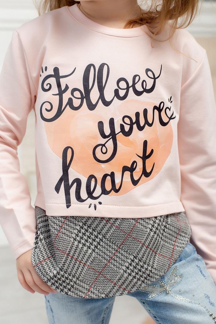 """Кофта """"Follow"""" для девочки"""