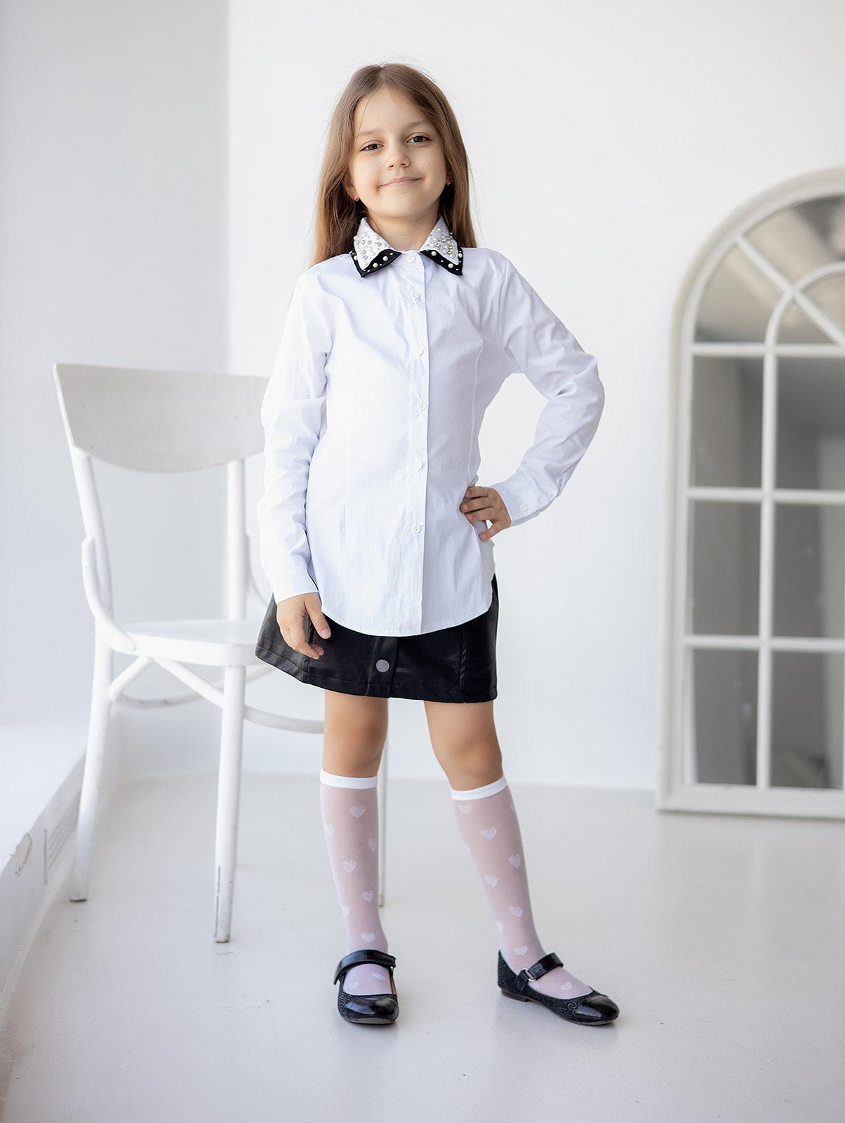 Сорочка з прикрасами для дівчинки
