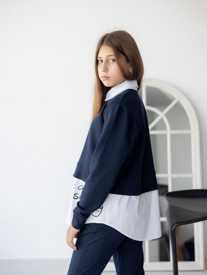 Сорочка обманка для дівчинки