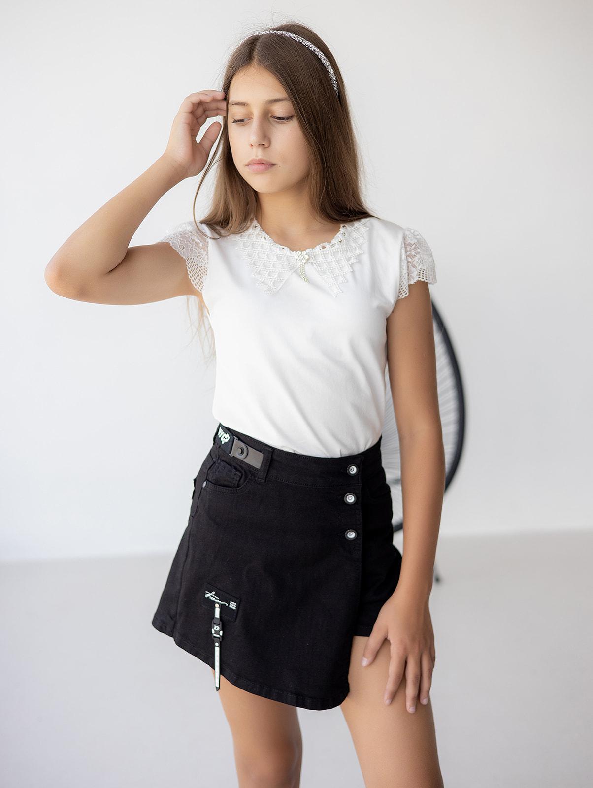 Шорты - юбка для девочки