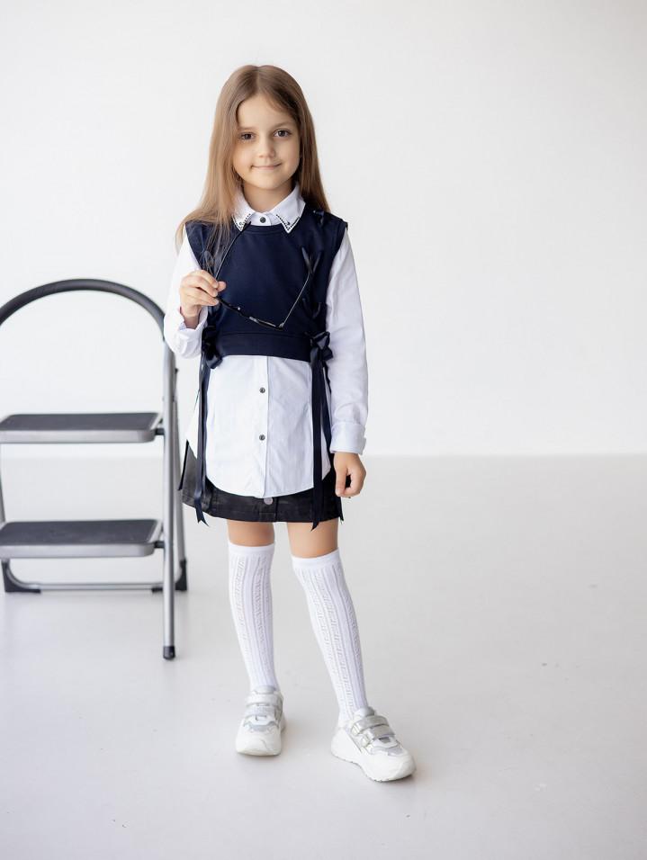 "Рубашка двойка ""With lacing"" для девочки"