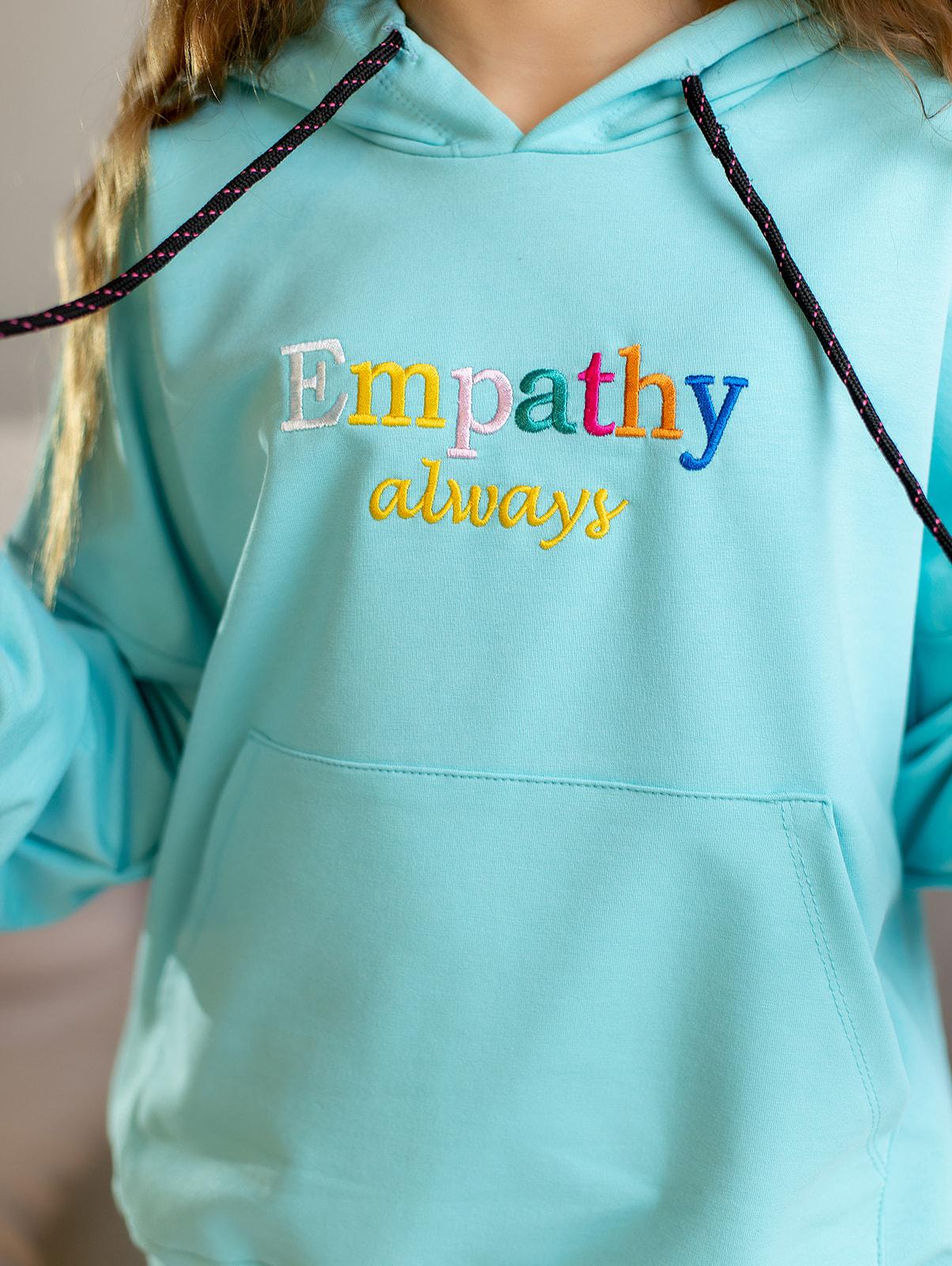 """Худи """"Empathy"""" с капюшоном для девочки"""