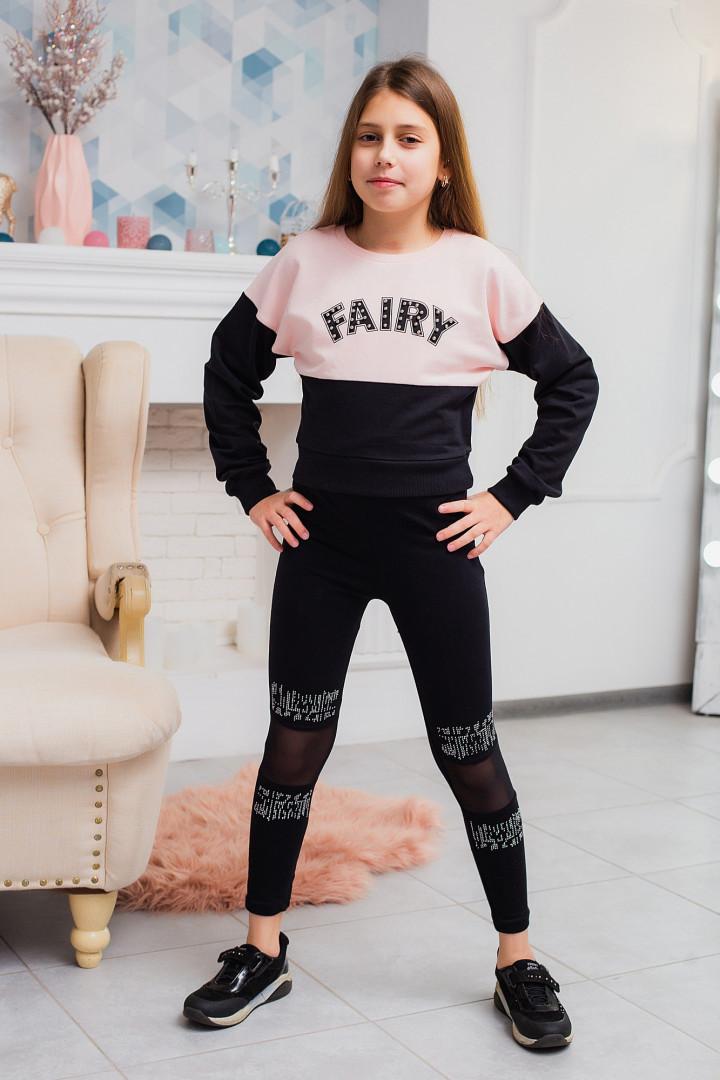 """Укорочений джемпер """"FAIRY"""" для дівчинки"""