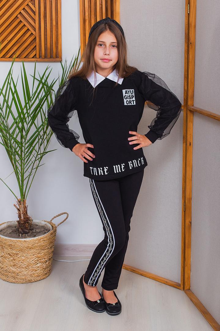 """Сорочка - реглан """"GISP"""" для дівчинки"""