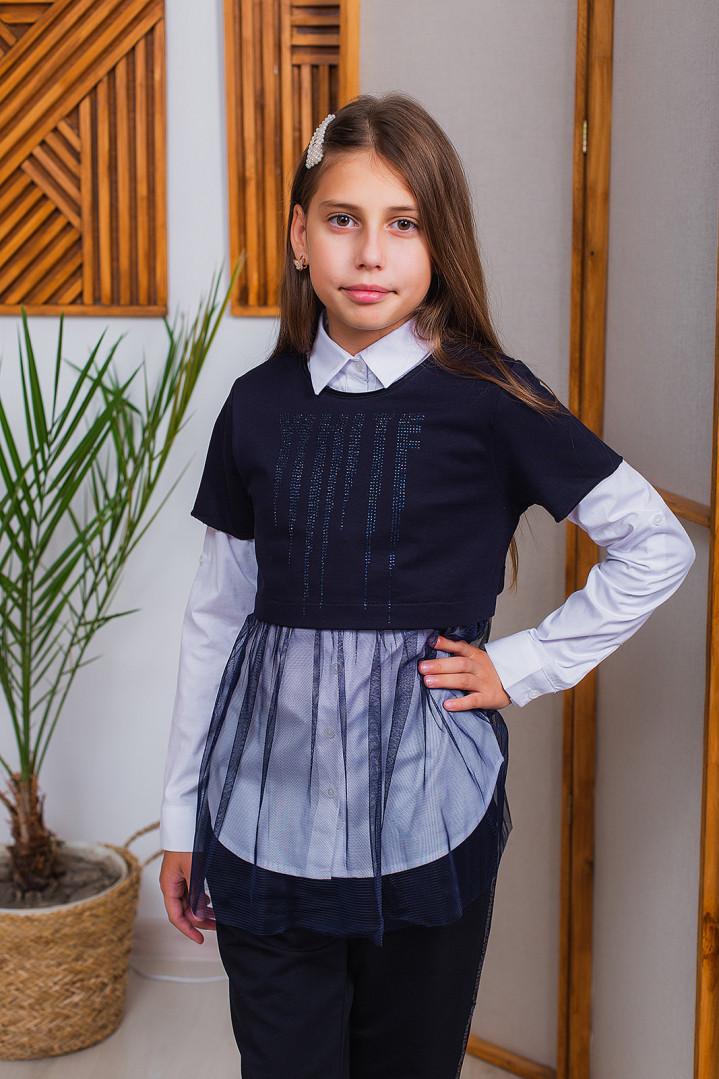 Сорочка двійка для дівчинки