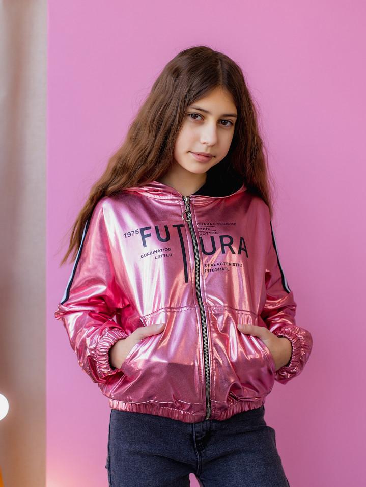 """Куртка-бомбер """"FUTUR"""" для девочки"""