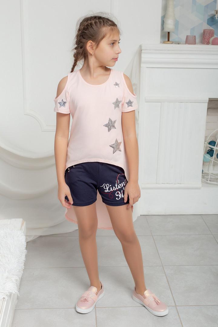 Трикотажные шорты для девочки