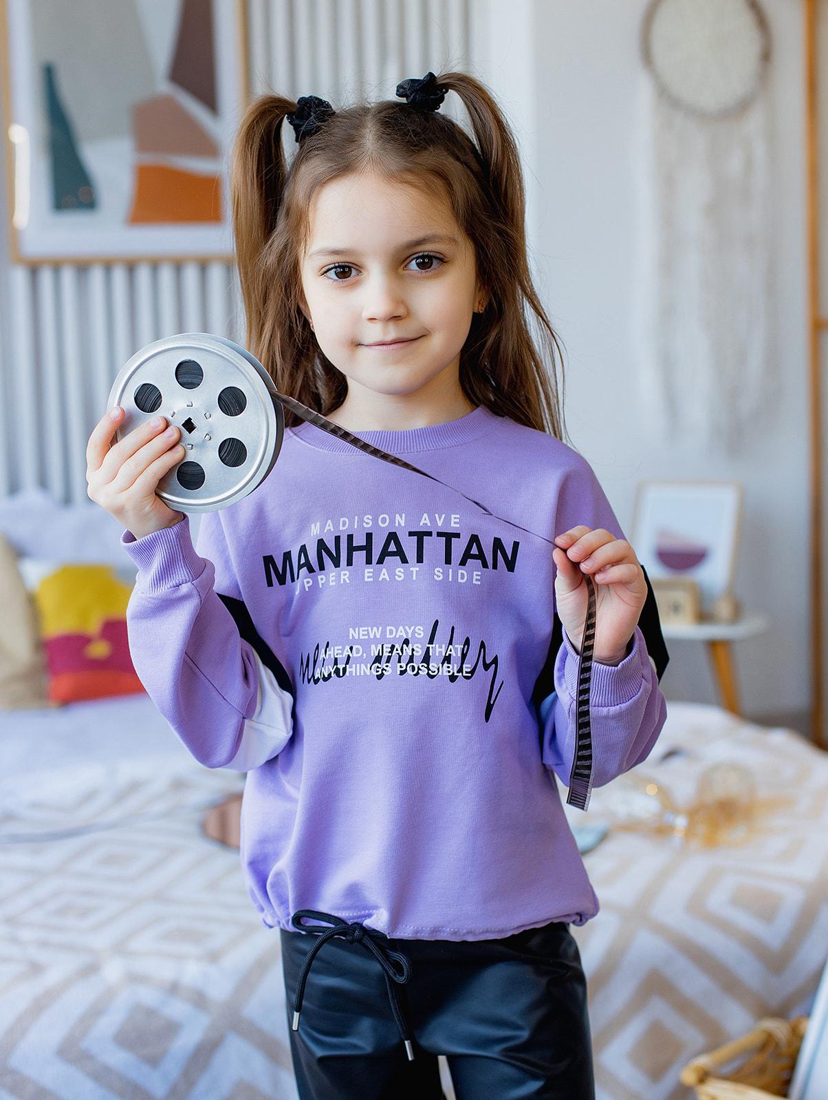"""Джемпер """"MANHATTAN"""" для девочки"""