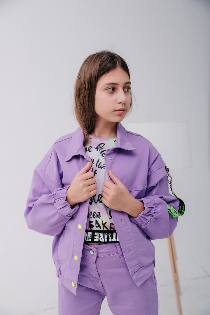 Жакет на кнопках для девочки