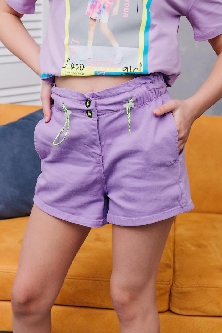 Шорти з кишенями для дівчинки