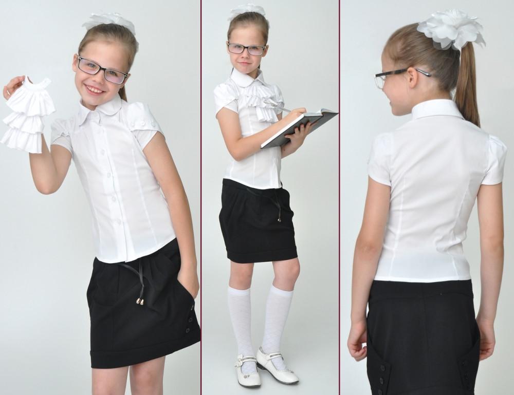 Блузки для девочек: базовая вещь в школьном гардеробе
